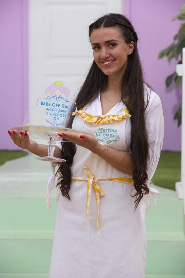Martina Russo vince Bake off Italia