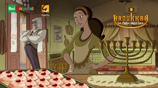 Hanukkah, La festa delle luci: in prima visione assoluta il 22 dicembre alle 15.25 su Rai Gulp
