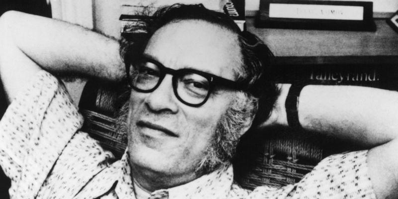 Isaac Asimov nel racconto di Wonderland su Rai 4