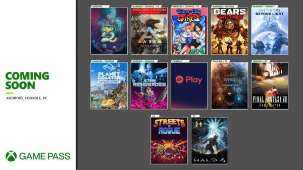 Xbox Game Pass: le novità di novembre 2020