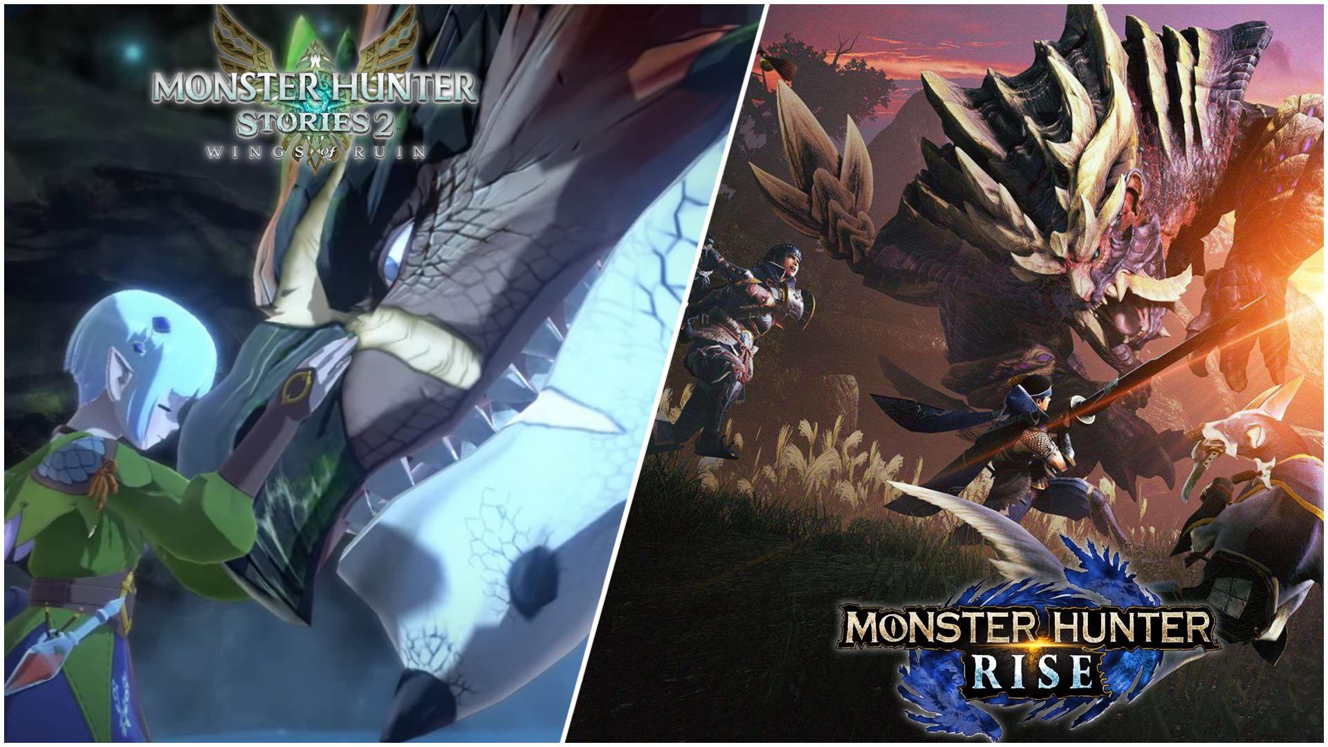 CAPCOM annuncia tre eventi digitali per i nuovi Monster Hunter
