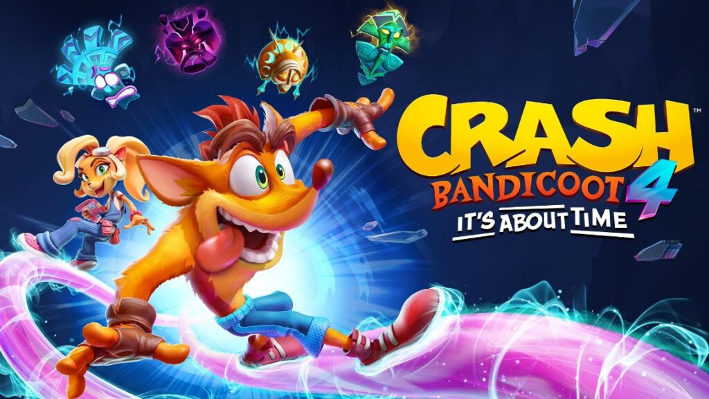 Crash Bandicoot 4: It's About Time arriva su PS5, Xbox Series X, PC e Switch