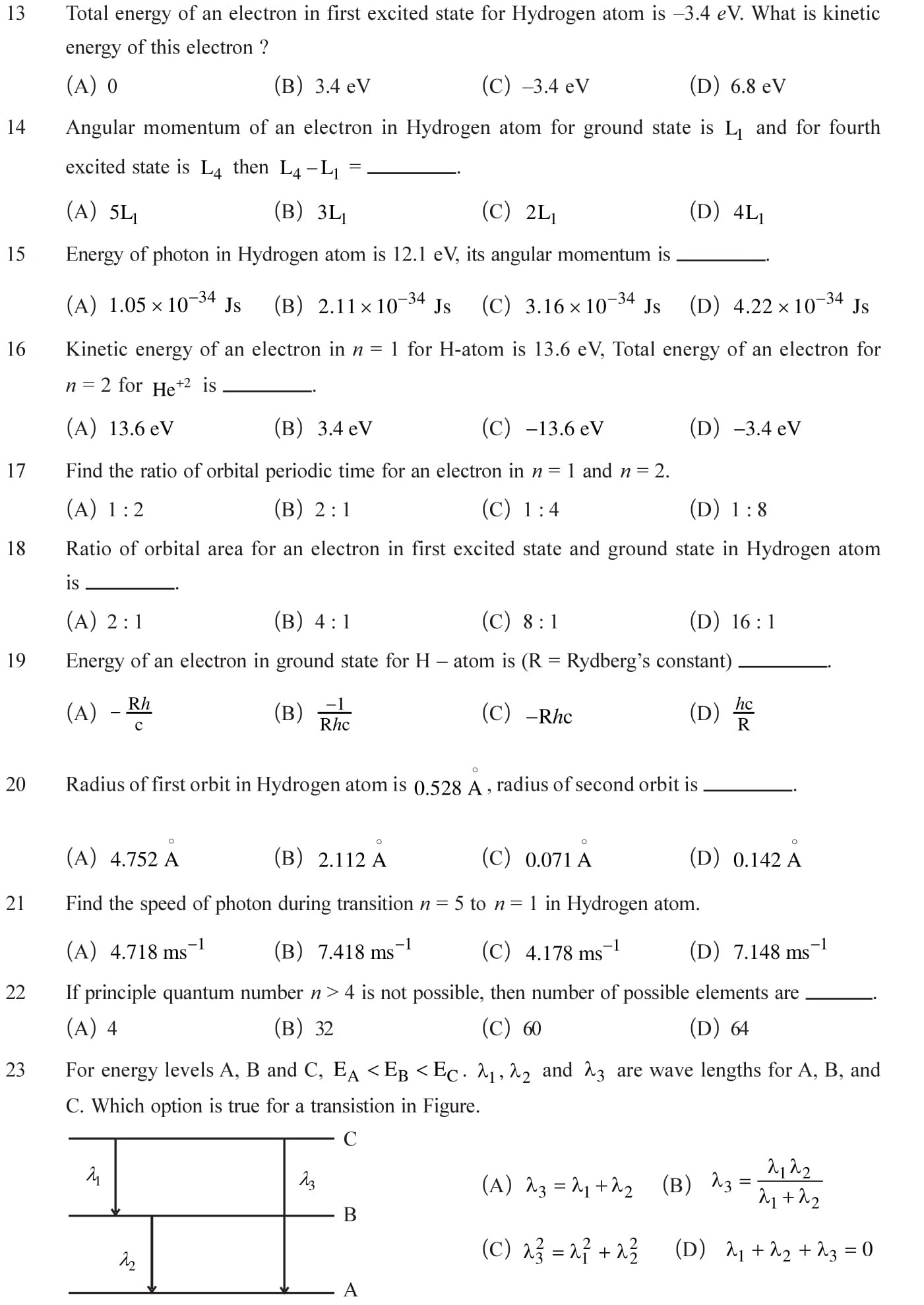 Ncert Solutions For Class 12 Physics Chapter 12 Atoms In