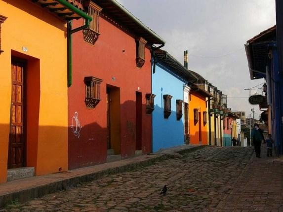 Colombie - Maisons Colorées
