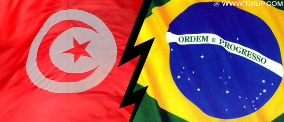 Tunisie - Brésil