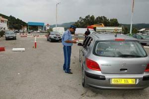 frontière Tunisie Algerie