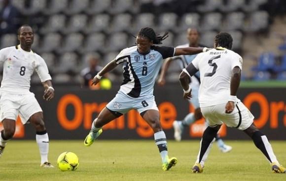 Ghana Botswana - CAN 2012