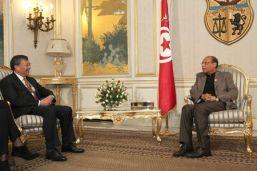 Moncef Marzouki - Chine
