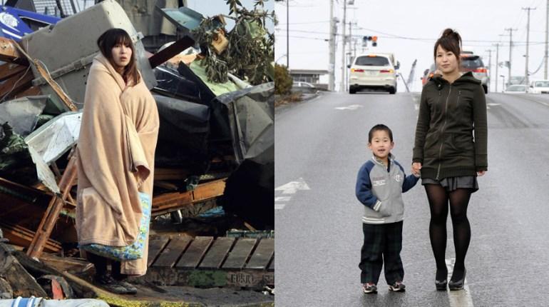 Japon - avant / Après