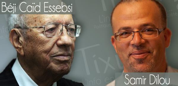 Béji Caïd Essebsi - Samir Dilou