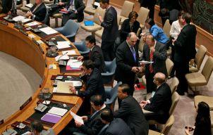 Conseil securité ONU