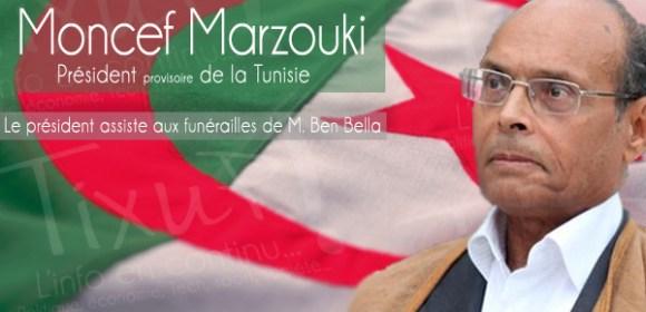 Moncef Marzouki - Algerie