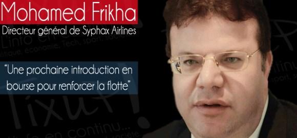 Mohamed Frikha - PDG Syphax Airlines