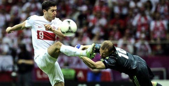 Euro 2012: Russie - Pologne