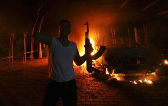 Consulat des Etats Unis à Benghazi