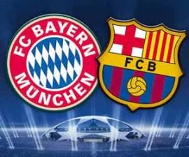 Bayern Munich VsFC Barcelone