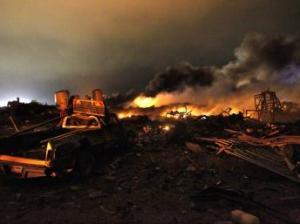 Explosion - Weco - Texas