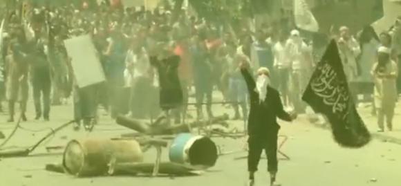 Affrontements entre salafiste d'Ansar Al Shariâa et forces de l'ordre