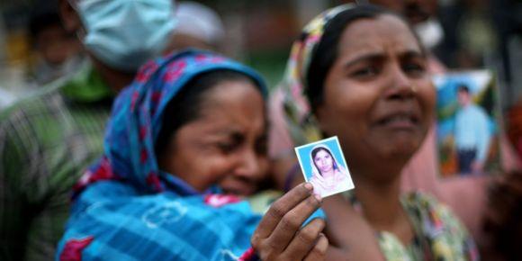 Effondrement d'un immeuble au Bangladesh