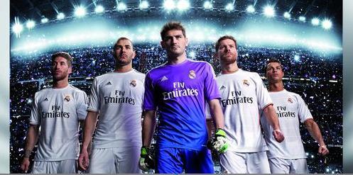 Nouveau maillot domicile de Real Madrid dévoilé