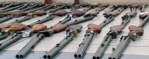 Saisie de 60 fusils de chasse et un pistolet au port de la Goulette