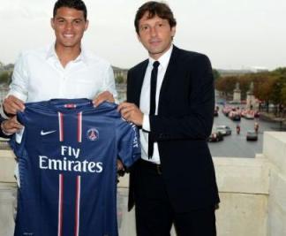 Thiago Silva et Leonardo suspendus