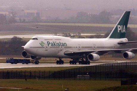 Avion de ligne pakistanais escorté dans le ciel britannique