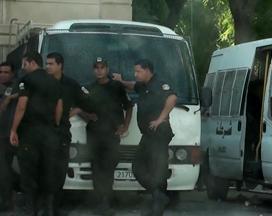 Palais de Justice de Tunis protégé par la police