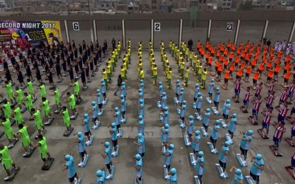 Flash mob en prison
