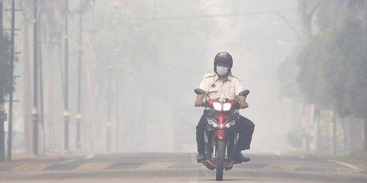 Indonésie - La pollution à Singapour
