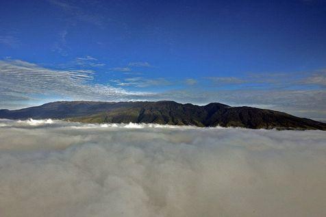 Une vue du mont Hagen en Papouasie-Nouvelle Guinée (Photo Torsten Blackwood. AFP)