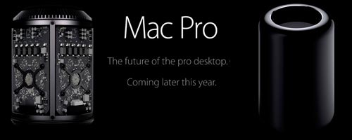 Apple : Le nouveau Mac Pro cylindrique