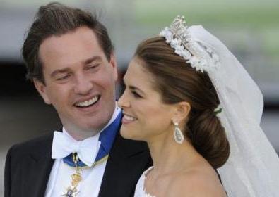 La princesse Madeleine de Suède et le financier Chris O'Neill mariés