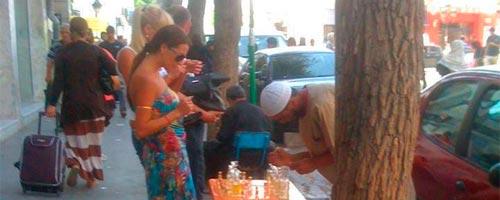 Inédit - Photo du jour : Les touristes en Tunisie s'intéressent au
