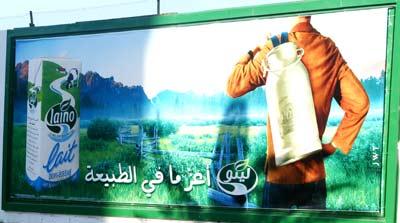 Affiche publicitaire LAINO