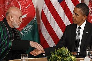 Karzaï - Obama