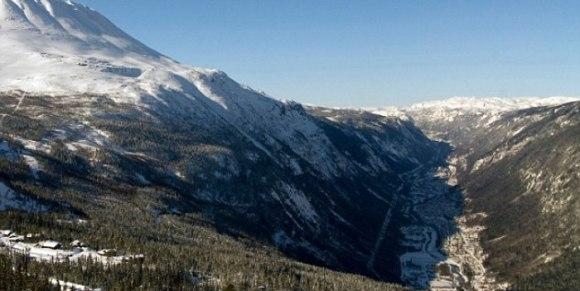 Rjukan - Norvège