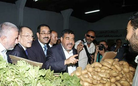 1er point de vente au souk Moncef Bey