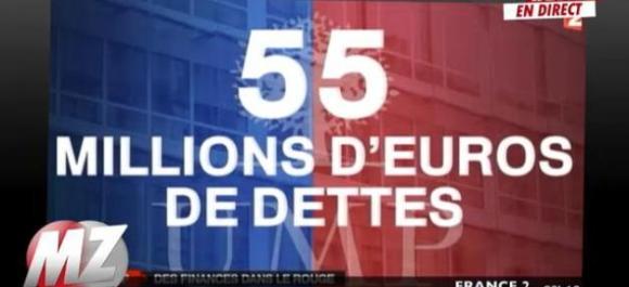France - UMP : 5 ans pour rembourser 55 millions d'euros