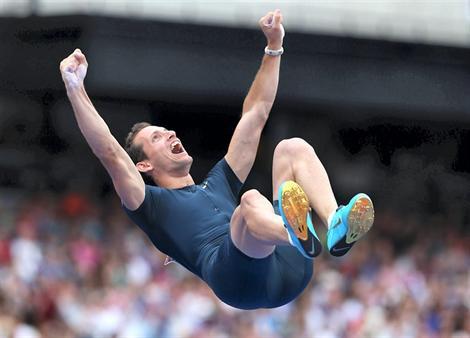 Renaud Lavillenie, médaillé d'argent aux Mondiaux de Moscou