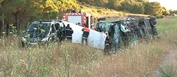Accident dans l'Aude