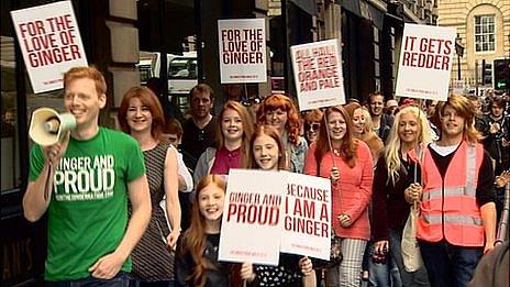 Shawn Hitchins au Ginger Pride