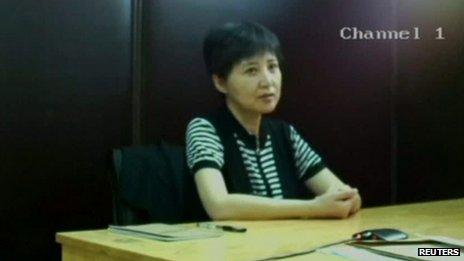 Gu Kailai est apparu détendu et lucide sur la vidéo.