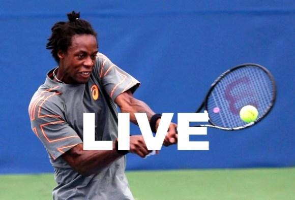 Match Gael Monfils Melzer Streaming  Direct Replay Finale Winston Salem 2013 ATP Tennis