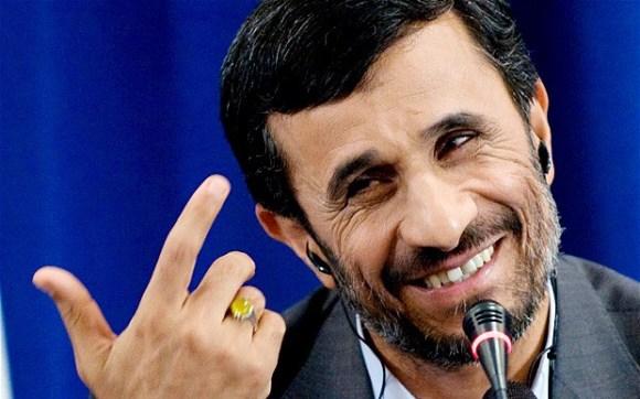 L'ancien président de la république islamique Iranienne, Mahmoud Ahmedinejad