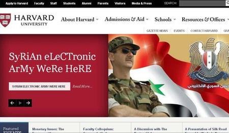 L'armée syrienne électronique frappe de nouveau