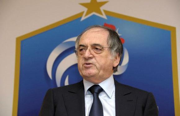 Noël Le Graët, président de la Fédération Française de Football