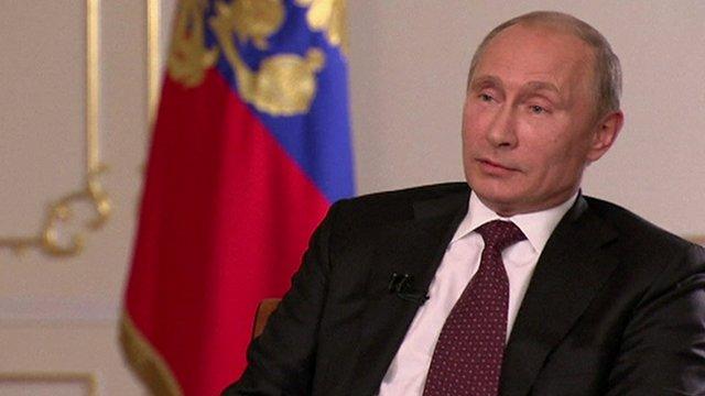 Le président Poutine a déclaré que toute intervention non sanctionnée de l'ONU serait interprété comme