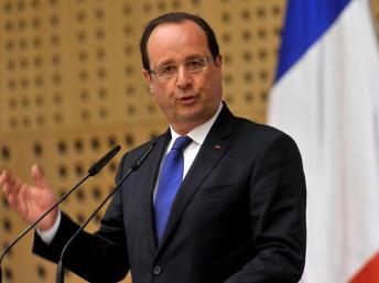 Le président François Hollande, Juillet 2013