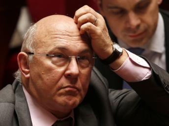 Ministre de l'Emploi Michel Sapin